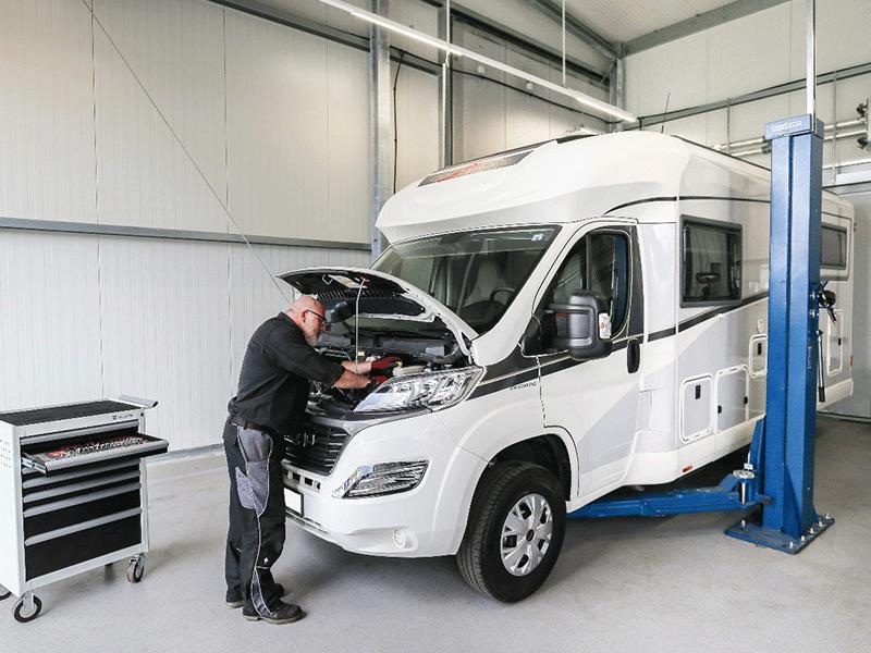 Wohnmobile Werkstatt und Reparatur