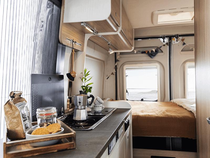 Sunlight Wohnmobil Innenraum