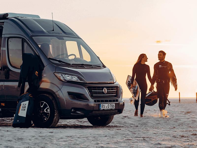 Sunlight Wohnmobil Camper Vans
